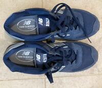 New Balance Shoes Men's 574 ML574CNE Navy Blue/Grey Size 10.5