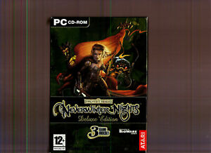NEVERWINTER NIGHTS DELUXE EDITION. SUPERB ROLE PLAYING GAME COLLECTION FOR PC!!
