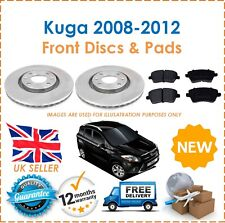 For Ford Kuga MK1 1.3 2008-2012 Two Front Vented 300MM Brake Discs & Brake Pads