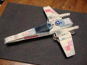 Star Wars, Vintage, X- Wing Fighter, Tonka, 36 cm, von 1995 für Bastler.