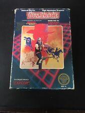 Gun.Smoke ORIGINAL Nintendo NES BOX ONLY Authentic! Rare! Good COND! Gun Smoke!