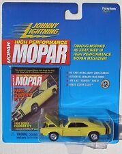 JOHNNY LIGHTNING MOPAR HIGH PERFORMANCE 1968 DODGE CHARGER R/T Rubber Tires