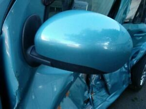 2009-14 Nissan CUBE Driver Side View Mirror Power Painted Body Color TEAL