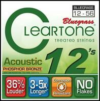 Cleartone 7423 EMP Phosphor Bronze Acoustic Guitar Strings - 12 - 56  Bluegrass