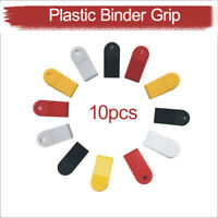 10x Large Extra Strong Clips- Plastic - Paper Binder Grip - Receipt Filing