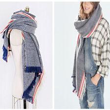 Fashion Women Blanket Oversized Scarf Wrap Warm Shawl Plaid Checked Pashmina New