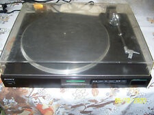 Sony Ps-Lx410 Record Player Turntable Missing Cartridge And Needle
