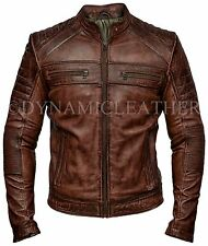 Men S Leather Coats And Jackets Ebay