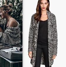 😊   H&M BEAUTIFUL KNITTED KIMONO BLAZER JACKET CARDI COAT one size NEW bloggers