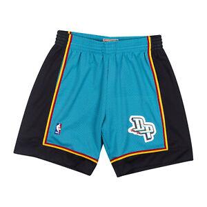 Detroit Pistons Mitchell & Ness NBA Authentic Swingman Men's Mesh Shorts Teal
