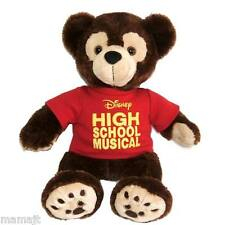 "Disney Hidden Mickey Bear High School Musical 13"" Red Shirt Plush Pre Duffy TAG"