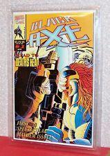 BLACK AXE, Vol. 1, #1, NM, 1993, GRADED 9.7 MCG (midwest Comic Grading, Marvel