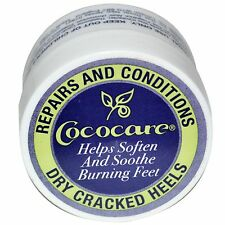 Dry Cracked Heel Balm, 5 oz (11 g) - Repairs and Conditions - Cococare