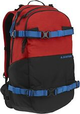ZAINO BURTON RIDERS PACK 25L FLAME HEATHER BACKPACK SNOWBOARD PORTATAVOLA NEW