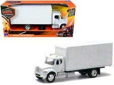 Freightliner Utility M2 Box Truck Van White 1-43 Diecast Model by New Ray
