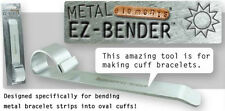 EZ-Bender for Making Cuff Bracelets Jewelry Tool Mandrel by BeadSmith