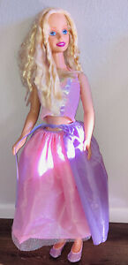 My Size Butterfly Barbie Doll 1992 Mattel Inc 38 Inch Life Size Doll