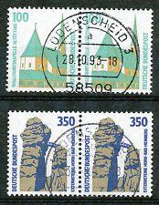 Bundespost 1406 - 1407 gebruikte paren