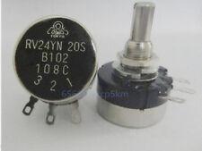 COSMOS/TOCOS RV24YN  20S B102 Potentiometer, 1K OHM Long Life Panel Pot