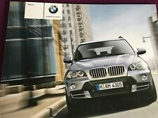 RARE Catalogue brochure  BMW X5 80 PAGES ANNEE 2008