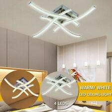 Modern LED 3 or 4 Light Ceiling Lights Kitchen Living Bedroom Pendant Lamps UK