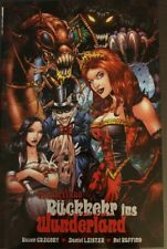 Wonderland 1 Rückkehr ins Wunderland Comic