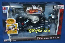 "Power Rangers SPD 5"" Shadow Ranger With Patrol Cycle New 2004 Factory Sealed"