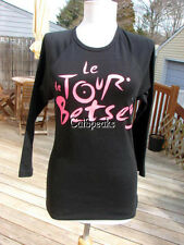 NWT BETSEY JOHNSON LE TOUR BETSEY RUNWAY TEE SHIRT FROM 2011 ~L  **sale**