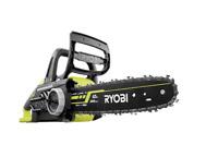 """Ryobi 18V ONE+ 12"""" Brushless Chainsaw - Skin Only - OCS1830BL"""
