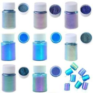 Mirror Chameleons Pigment Pearlescent Epoxy Resin Glitter Magic Powder Colorant