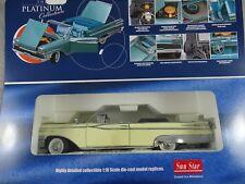 1:18 Sun Star Platinum #5152 1959 Mercury Parklane Aperto Convertible Giallo