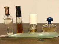 Vintage Perfume Lot Of 5 Forbidden, Jontue, Guerlain Shalimar, Impressions, Pupa