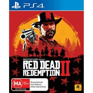 Red Dead Redemption 2 PS4 FREE POST + TRACKING VERY GOOD INCLUDES MAP