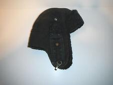 STETSON bomber trapper CAP HAT medium DARK DENIM