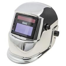 Sealey Chrome Masque de soudage Arc activé Commutation Automatique Lumière à Foncé-MTR524105