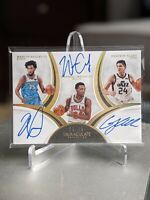 🔥 2018-19 Immaculate Grayson Allen Carter Jr. Bagley #/25 *Thick* Auto RC 📈🔥
