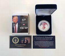 Donald Trump - Kim Jong-Un KOREAN Peace Talks Summit  Commemorative Silver Coin