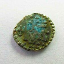 RARE FRANKS KINGDOM Uncertain Silver Denier c. 700 AD (148)