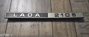 Lada Laika Riva Nova 2105 Rear Trim Badge Emblem 2105-8212204