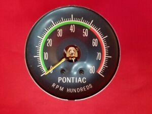 1964-1965 Bonneville Grand Prix Tachometer NOS
