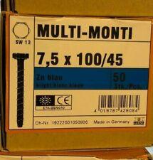 HECO MULTI-MONTI-Betonschraub Edelstahl MMS A4 7,5-75-10