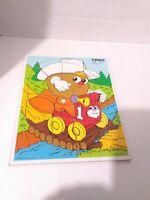 Mr Potato Head Vintage Hasbro 11PC WOOD Tray Puzzle Toy PLAYSKOOL SPUD