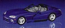 Dodge Viper Cabrio 1993 Blue 1:43 Model MINICHAMPS