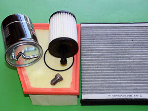 Filtersatz Inspektionspaket Polo 9N Fabia Ibiza Cordoba 1.4 TDI mit 51 & 59kW