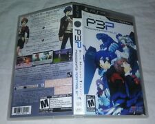 Shin Megami Tensei Persona 3 Portable CASE AND ARTWORK Sony PSP P3P Playstation