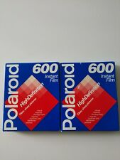 POLAROID 600 Instant Film High Definition Two Packs Vintage 1995