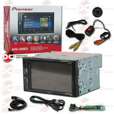 "PIONEER AVH-200EX 6.2"" TOUCHSCREEN USB DVD CAR BLUETOOTH STEREO FREE REAR CAMERA"