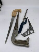 Hand Saw Group Of 4