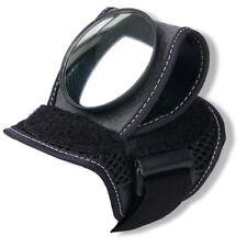 Cycling Bicycle Bike Wrist Rearview Mirror Guards Wristbands BackEye Convex UK