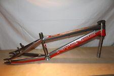 New Intense Phenom Pro XLP BMX Bike Frame - Red/Silver - Hard to Find